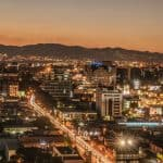 BCP22 Sunset in Guatemala City